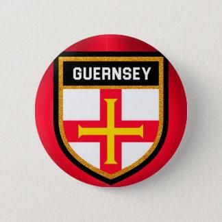 Guernsey Flag 2 Inch Round Button