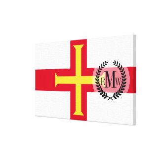 Guernsey Flag Canvas Print