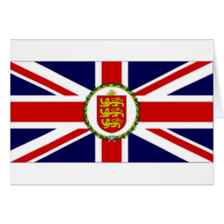 Guernsey Lieutenant Governor Flag Greeting Cards