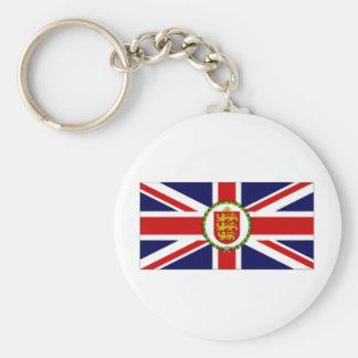 Guernsey Lieutenant Governor Flag Key Chains