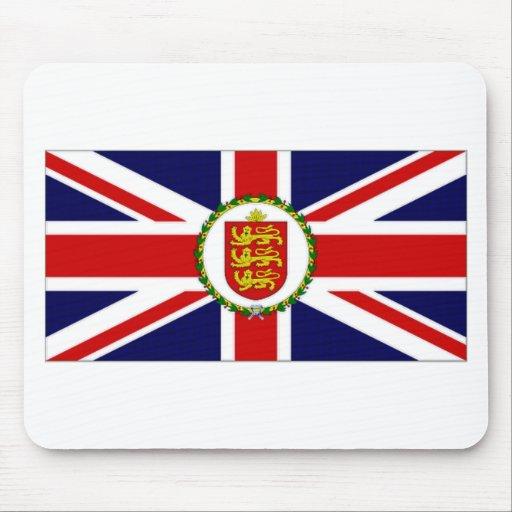 Guernsey Lieutenant Governor Flag Mousepad