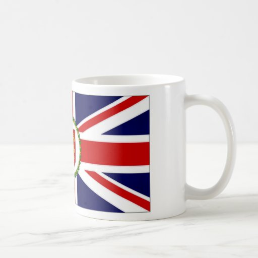 Guernsey Lieutenant Governor Flag Coffee Mugs