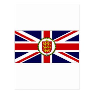 Guernsey Lieutenant Governor Flag Postcards