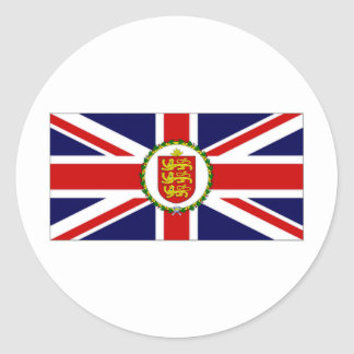 Guernsey Lieutenant Governor Flag Stickers
