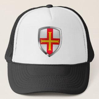 Guernsey Metallic Emblem Trucker Hat