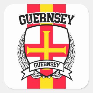 Guernsey Square Sticker
