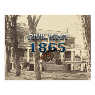 Guerre civile 1865 d'ABH Cartes Postales