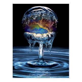 Guerre de l'eau cartes postales
