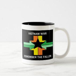 GUERRE DE VIETNAM - RAPPELEZ-VOUS TOMBÉ MUG À CAFÉ