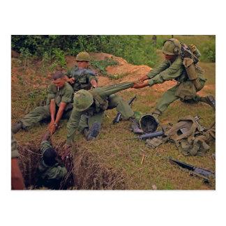 Guerre en fonction de l'Orégon Vietnam de peloton Carte Postale