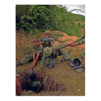 Guerre en fonction de l'Orégon Vietnam de peloton Cartes Postales