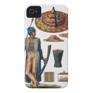 Guerrier d'île de Guebe avec des articles Coques iPhone 4