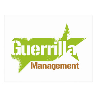 Guerrilla Management Logo 2 Postcard