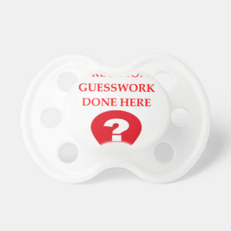 GUESS BABY PACIFIER