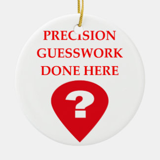 GUESS CERAMIC ORNAMENT