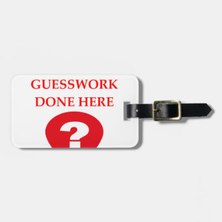 GUESS LUGGAGE TAG