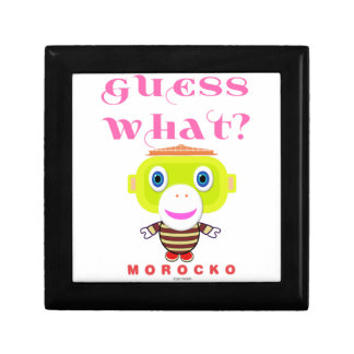 Guess What-Cute Monkey-Morocko Gift Box