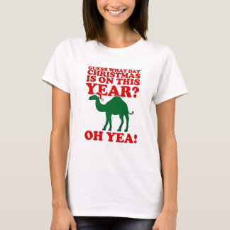guess what day christmas is on this year american T-Shirt