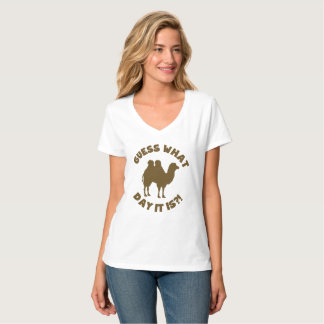 Guess What Day? Hump Day Wednesday T-Shirt