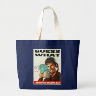 Guess What WWII Poster Tote