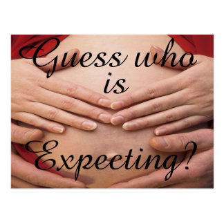 Guess who is expecting Cards and Gifts.