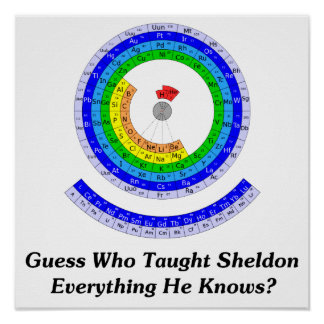 Guess Who Taught Sheldon Everything He Knows? Poster