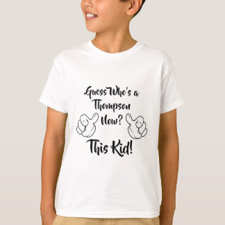 Guess Who's Adopted Now? - Custom Name Shirt