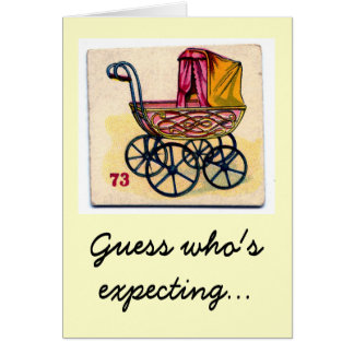 Guess Who's Expecting! Card