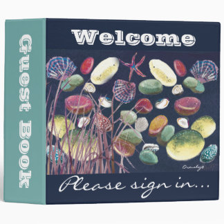 Guest binder - Welcome beach theme