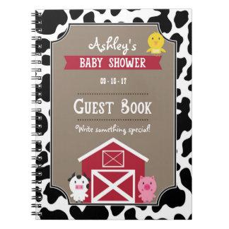 Guest Book - Farm Animals