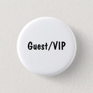 Guest/VIP 1 Inch Round Button