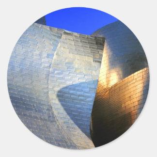 Guggenheim Museum, Bilbao Classic Round Sticker
