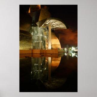Guggenheim Reflections I Poster