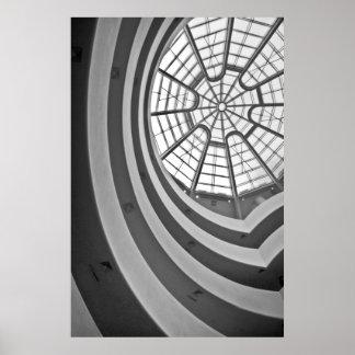 Guggenheim Skylight Poster