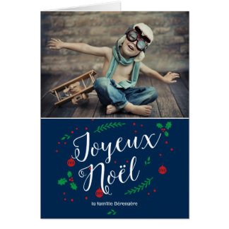 gui Merry photo de vacances voeux Greeting Card