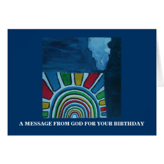 GUIDANCE/ A MESSAGE FROM GOD CARD