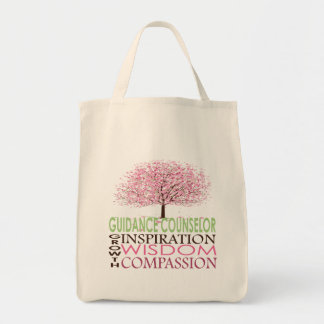 Guidance Counselor Bag Cherry Blossoms