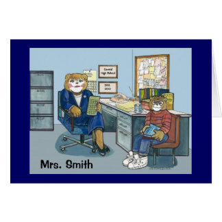 Guidance Counselor Greeting Card