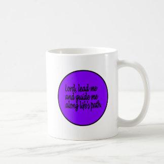 Guidance prayer mug. coffee mug