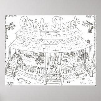Guide Shack Poster