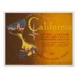 Guide To California 1940 WPA Poster
