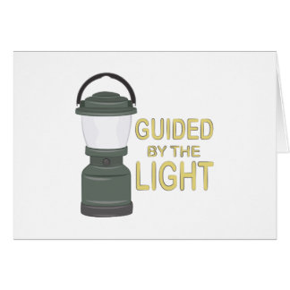Guided By Light Card
