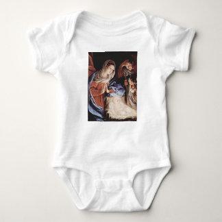 Guido_Reni_Birth Of Christ Baby Bodysuit