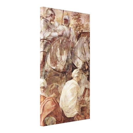 Guido Reni - Portrait of Beatrice Cenci Canvas Print