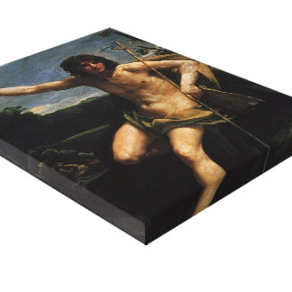 Guido Reni- Saint John the Baptist Stretched Canvas Prints