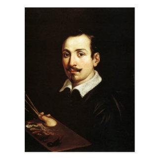Guido Reni- Self Portrait Postcard