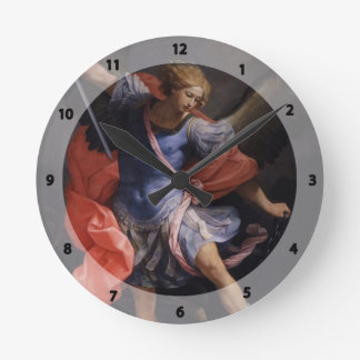 Guido Reni- The Archangel Michael defeating Satan Round Clock