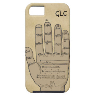 Guidonian Hand, Medieval Music Theory Customizable iPhone 5 Covers