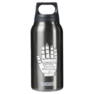 Guidonian Hand, Medieval Music Theory Insulated Water Bottle