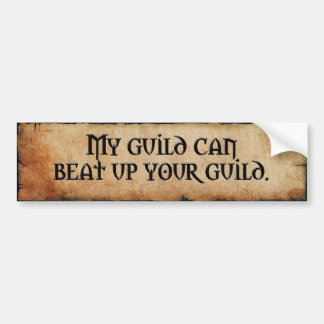 Guild Bumper Sticker